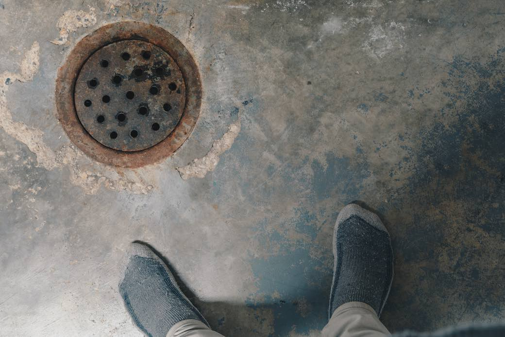 basement sewer drain