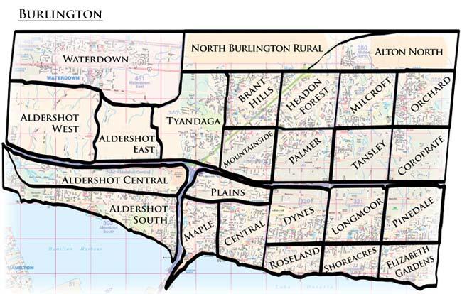 Burlington neighborhoods