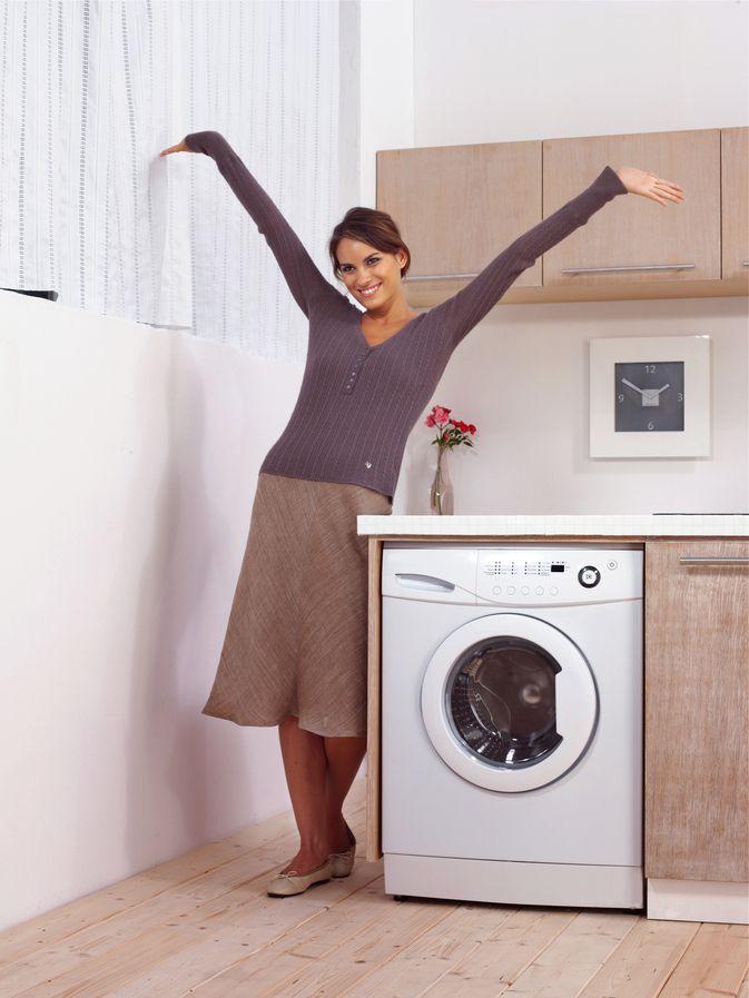 Washing Machine Installed